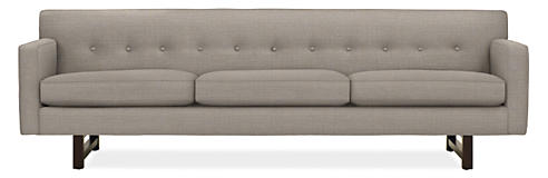 Modern sofas loveseats room board for Room and board andre