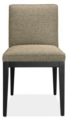 Custom Dining Chairs ansel custom dining chair - modern custom dining chairs & stools