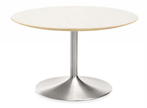 Aria Round Modern Conference Room Table Conference Room Tables - 48 inch round conference table