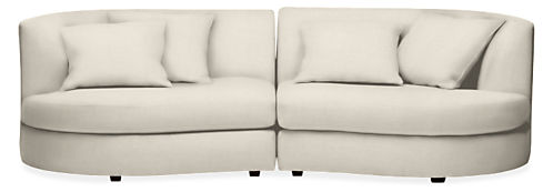 """Astaire 100"""" Two-Piece Sofa"""