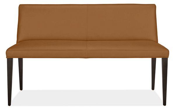 Cool Ava Leather Bench Machost Co Dining Chair Design Ideas Machostcouk