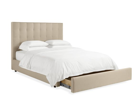 Avery Custom Queen Storage Bed