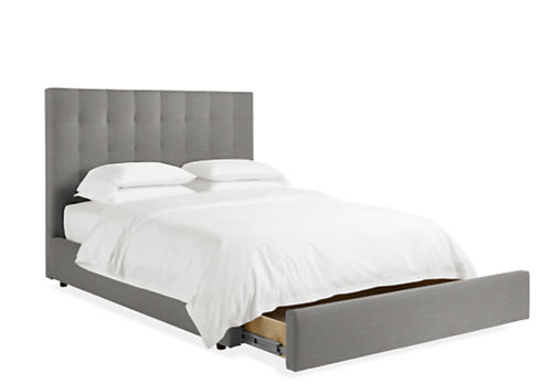 Avery Upholstered Storage Bed - Modern & Contemporary Beds - Modern ...