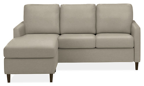 Berin Slope Arm Day & Night Sleeper Sofas with Storage Chaise ...