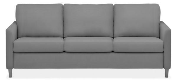 "Berin Custom Slope Arm  87"" King Sleeper Sofa"