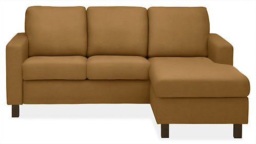 """Berin Wide Arm 82"""" Queen Plus Sleeper w/Right-Arm Storage Chaise"""