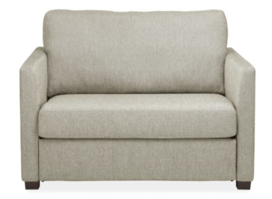 Berin Custom Slope Arm Twin Sleeper Chair