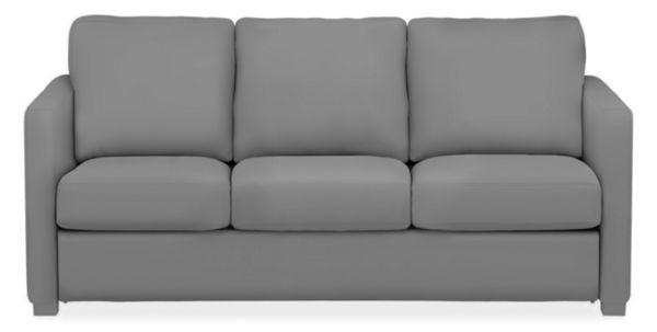 "Berin Custom Thin Arm 78"" Queen Plus Sleeper Sofa"