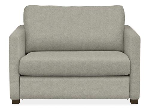 Berin Thin Arm Twin Sleeper Chair