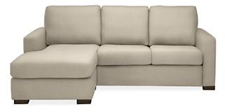 Berin Custom Wide Arm Day Night Sleeper Sofas With Storage Chaise