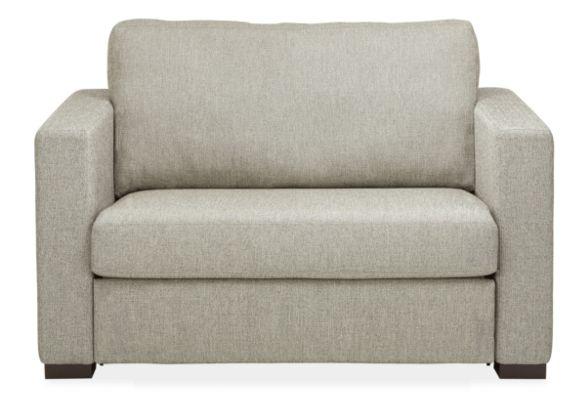 Berin Custom Wide Arm Twin Sleeper Chair