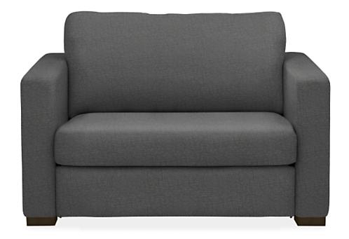Berin Wide Arm Twin Sleeper Chair