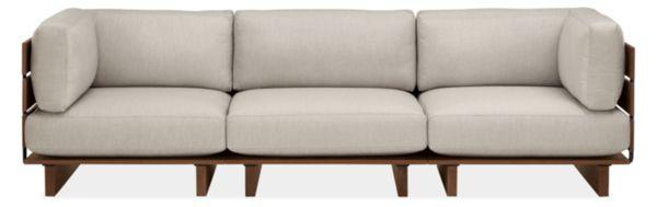 "Span 110"" Three-Piece Modular Sofa"