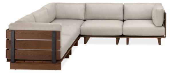 "Span 110x110"" Five-Piece Modular Sectional"
