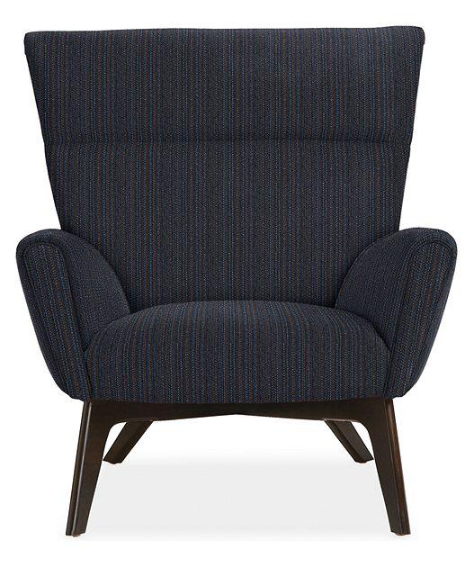 Boden Chair & Ottoman