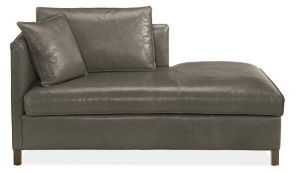 Bram Leather Chaises