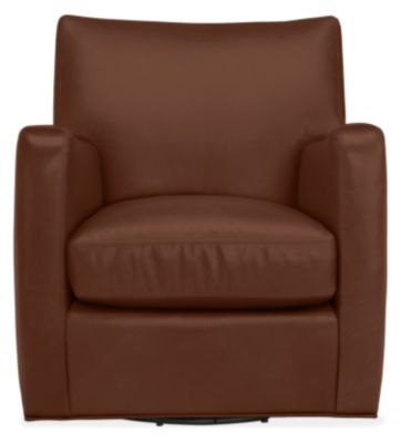 Peachy Brennan Leather Swivel Chair Pabps2019 Chair Design Images Pabps2019Com