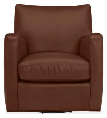 Terrific Brennan Leather Swivel Chair Uwap Interior Chair Design Uwaporg