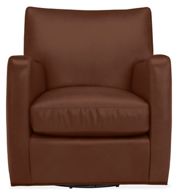 Brennan Leather Swivel Chair