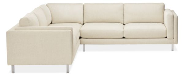 "Cade Custom 112x112"" Three-Piece Sectional"