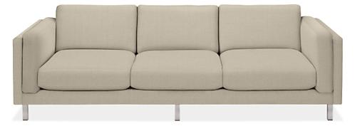 "Cade Custom 101"" Three-Cushion Sofa"