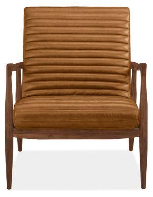 Fantastic Callan Leather Chair Ottoman Theyellowbook Wood Chair Design Ideas Theyellowbookinfo