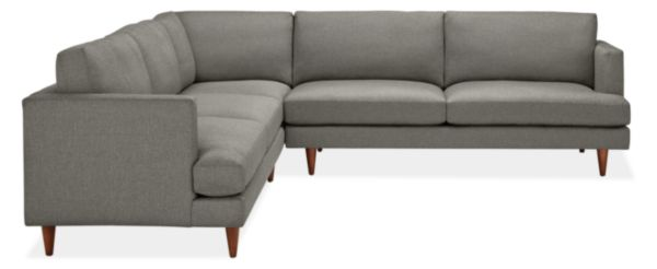"Campbell Custom 110x110"" Three-Piece Sectional"