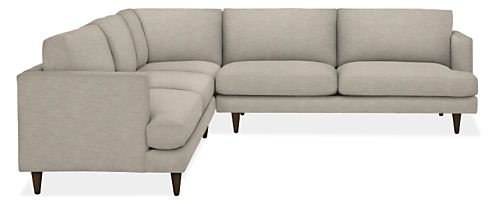 "Campbell 110x110"" Three-Piece Sectional"