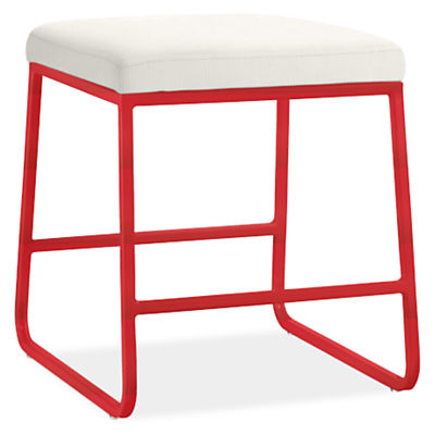 Collins Modern Fabric Low Stool Modern Benches Stools