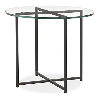 Classic Natural Steel End Tables - Modern End Tables - Modern Living ...