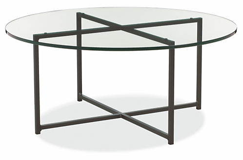Clic 36 Diam 16h Round Coffee Table