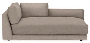 """Clemens 37"""" Right-Arm Chaise"""