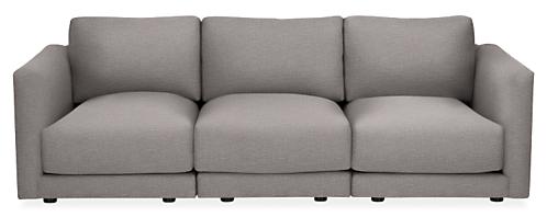 "Clemens 107"" Three-Piece Modular Sofa"