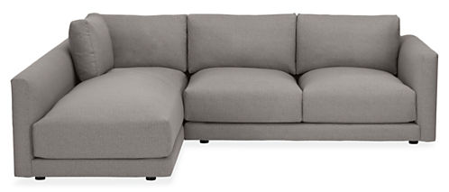 """Clemens Custom 104"""" Sofa with Left-Arm Chaise"""
