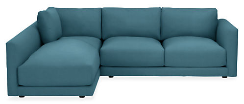 "Clemens 104"" Sofa with Left-Arm Chaise"