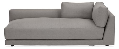 """Clemens Custom Extra Deep 43"""" Left-Arm Chaise"""