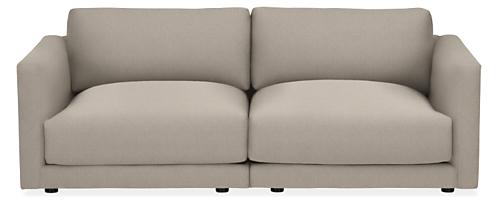 """Clemens Extra Deep 86"""" Two-Piece Modular Sofa"""