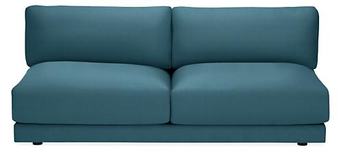 "Clemens Extra Deep 78"" Armless Sofa"