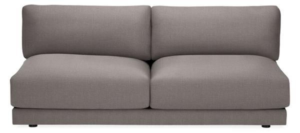 Brilliant Clemens Extra Deep Armless Sofa Beatyapartments Chair Design Images Beatyapartmentscom