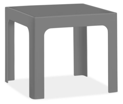 Crescent 19w 19d 17h Square End Table