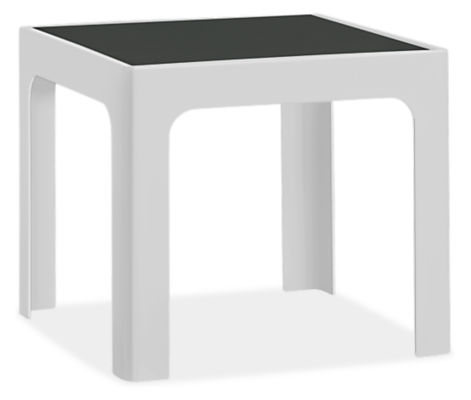 Crescent 19w 19d 17h Square Side Table