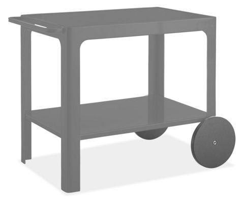 Crescent 35w 22d 29h Bar Cart