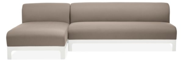 """Crescent 108"""" Sofa with Chaise"""