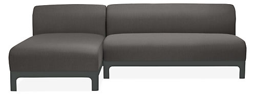 """Crescent 96"""" Sofa with Chaise"""