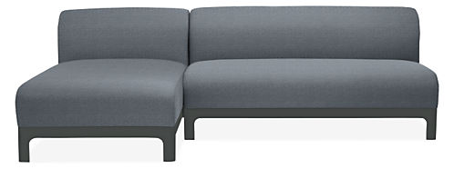 "Crescent 96"" Sofa with Chaise"