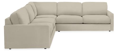 "Easton 103x103"" Three-Piece Sectional"