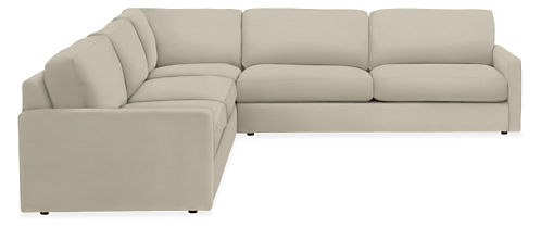 "Easton 113x113"" Three-Piece Sectional"