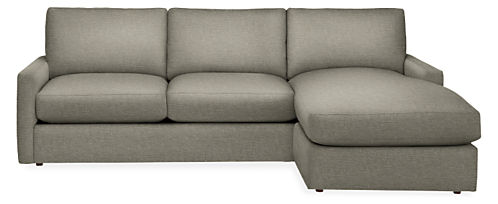 "Easton 91"" Sofa with Reversible Chaise"