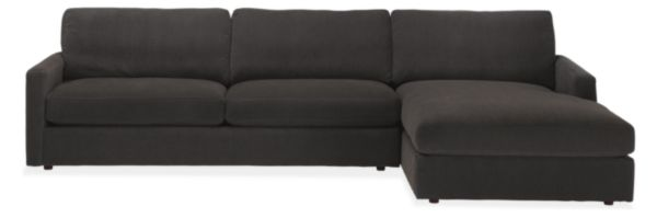 "Easton 116"" Sofa with Left-Arm Chaise"