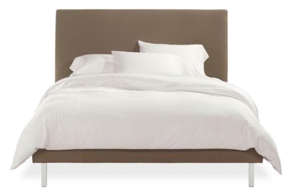 Ella Upholstered Bed Modern Beds Amp Platform Beds